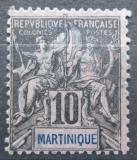Poštovní známka Martinik 1892 Koloniální alegorie Mi# 30