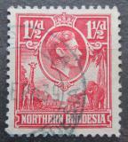 Poštovní známka Severní Rhodesie, Zambie 1938 Král Jiří VI. Mi# 29
