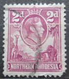 Poštovní známka Severní Rhodesie, Zambie 1951 Král Jiří VI. Mi# 33