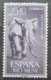 Poštovní známka Rio Muni 1961 Slon africký Mi# 19