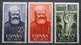Poštovní známky Rio Muni 1963 Páter Joaquín Juanola Mi# 37-39