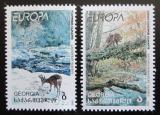 Poštovní známky Gruzie 1999 Evropa CEPT, národní parky Mi# 312-13