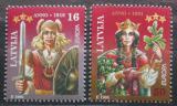Poštovní známky Lotyšsko 1995 Evropa CEPT Mi# 414-15