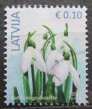 Poštovní známka Lotyšsko 2017 Sněženky Mi# 929 II