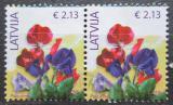 Poštovní známky Lotyšsko 2018 Hrachor vonný pár Mi# 933 III Kat 9.80€