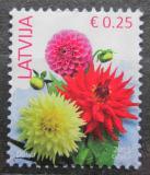 Poštovní známka Lotyšsko 2015 Jiřiny Mi# 930 I