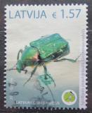 Poštovní známky Lotyšsko 2019 Zdobenec zelenavý Mi# 1069 Kat 10.80€