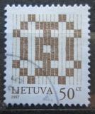 Poštovní známka Litva 1997 Dvojtý kříž Mi# 648 I