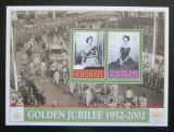 Poštovní známky Kiribati 2002 Královna Alžběta II. Mi# Block 47 Kat 8€
