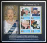 Poštovní známky Libérie 2006 Královna Alžběta II. Mi# 5177-80