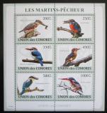 Poštovní známky Komory 2009 Ptáci Mi# 2184-89 Kat 14€