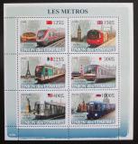 Poštovní známky Komory 2009 Metro Mi# 1862-67 Kat 11€