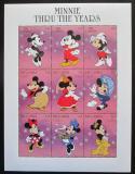 Poštovní známky Gambie 1997 Disney, Minnie Mi# 2714-22 Kat 15€