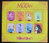 Poštovní známky Gambie 1998 Disney, Mulan Mi# 3030-37 Kat 13€