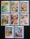 Poštovní známky Guyana 1993 Disney, Kačer Donald Mi# 4440-47 Kat 11€