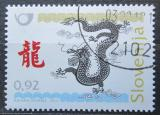 Poštovní známka Slovinsko 2012 Čínský nový rok, rok draka Mi# 946