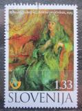 Poštovní známka Slovinsko 2011 Umění, Rihard Jakopič Mi# 913