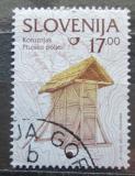 Poštovní známka Slovinsko 1999 Kukuřičné silo Mi# 260