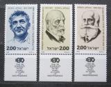 Poštovní známky Izrael 1978 Osobnosti moderních dějin Mi# 779-81