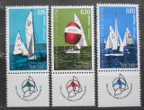 Poštovní známky Izrael 1970 Plachetnice Mi# 476-78