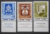 Poštovní známky Izrael 1970 Městské znaky Mi# 486-88
