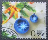 Poštovní známka Estonsko 2014 Vánoce Mi# 812