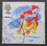 Poštovní známka Velká Británie 1988 Slalom Mi# 1144