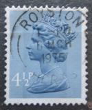 Poštovní známka Velká Británie 1973 Královna Alžběta II. Mi# 634