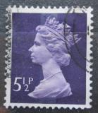 Poštovní známka Velká Británie 1973 Královna Alžběta II. Mi# 635