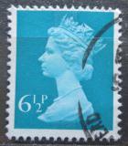 Poštovní známka Velká Británie 1974 Královna Alžběta II. Mi# 658