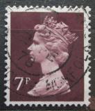 Poštovní známka Velká Británie 1975 Královna Alžběta II. Mi# 667