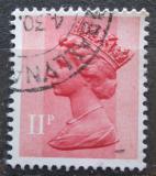 Poštovní známka Velká Británie 1976 Královna Alžběta II. Mi# 700