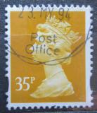 Poštovní známka Velká Británie 1993 Královna Alžběta II. Mi# 1481
