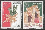 Poštovní známky Monako 1981 Evropa CEPT Mi# 1473-74