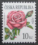 Poštovní známka Česká republika 2008 Růže Mi# 542