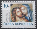 Poštovní známka Česká republika 2008 Velikonoce, umění Mi# 547