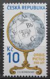 Poštovní známka Česká republika 2008 Orbis Pictus, Jan Ámos Komenský Mi# 550
