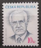 Poštovní známka Česká republika 2008 Prezident Václav Klaus Mi# 554
