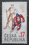 Poštovní známka Česká republika 2008 MS v hokeji Mi# 558
