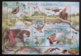 Poštovní známky Česká republika 2008 Ochrana přírody - Třeboňsko Mi# Block 30