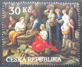 Poštovní známka Česká republika 2008 Umění, Jan Jakub Hartmann Mi# 579