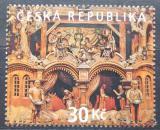 Poštovní známka Česká republika 2008 Třebechovický betlém Mi# 581