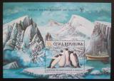 Poštovní známka Česká republika 2009 Ochrana polárních krajů a ledovců Mi# Block 35