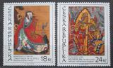 Poštovní známky Česká republika 2009 Asijské umění Mi# 590-91