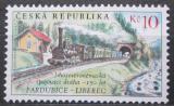 Poštovní známka Česká republika 2009 Dráha z Pardubic do Liberce Mi# 594
