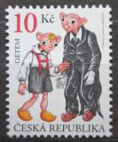 Poštovní známka Česká republika 2009 Spejbl a Hurvínek Mi# 598