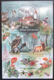 Poštovní známky Česká republika 2009 Ochrana přírody - Křivoklátsko Mi# Block 38