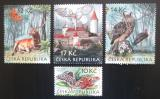 Poštovní známky Česká republika 2009 Ochrana přírody - Křivoklátsko Mi# 603-06