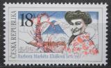 Poštovní známka Česká republika 2009 Barbora Markéta Eliášová, cestovatelka Mi# 612
