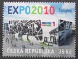 Poštovní známka Česká republika 2010 EXPO Šanghaj Mi# 622